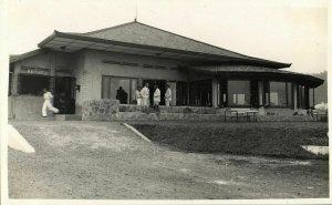 indonesia, JAVA BANDUNG, Hotel Tangkoebam Prahoe (1930s) RPPC Postcard