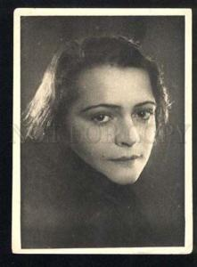 041845 GOLDINA Russian OPERA Singer Vintage PHOTO