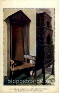 warming machine of the house of burgesses Jamestown Exposition 1907, Unused l...