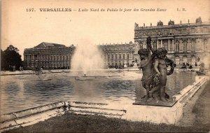 France Versaille Le Chateau Laile Nord du Palais le jour des Grandes Eaux