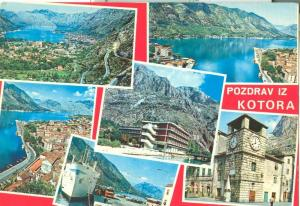 Croatia, Pozdrav Iz Kotora  1973 used Postcard