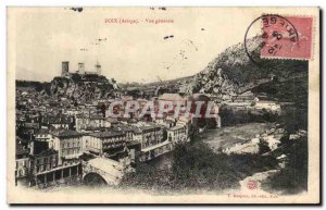 Foix Old Postcard General view