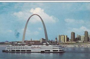 The Eero Saarinen Gateway Arch, Saint Louis The Gateway To The West, The S. S...