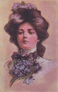 American Beauty Style Female Head portrait , 00-10s