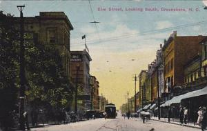 Elm Street, looking South, Greensboro, North Carolina,00-10s