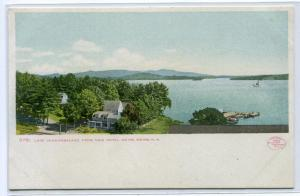 Lake Winnepesaukee From Hotel Weirs New Hampshire 1907c postcard