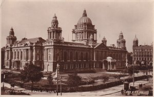 RP; BELFAST, Northern Ireland, PU-1930; City Hall From East