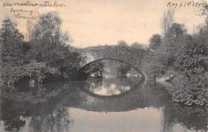 USA New York City Vine Arch Bridge Central Park 1905