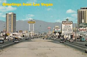LAS VEGAS , Nevada , 50-60s; Greetings, The Fabulous Strip