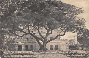 St Michael Barbados Fontabelle Holborn Government House Antique PC JD228026