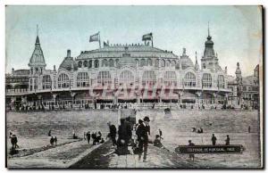 Old Postcard Belgium Kursaal Oostende