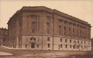 LOS ANGELES, California, 1900-1910's; Post Office