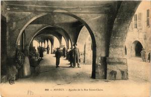 CPA  Annecy - Arcades de la Rue Sainte-Claire  (691373)