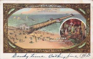 New Jersey Atlantic City Heinz Ocean Pier 1910