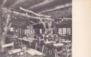 Vermont Rutland Unique Rustic Dinig Room Long Trail Lodge Albertype