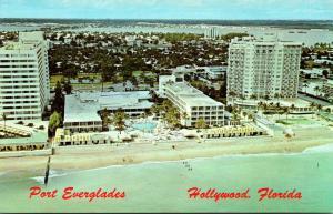 Florida Miami Beach Bal Harbor Showing Americana Balmoral and Sea View Hotels