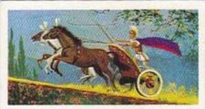 Brooke Bond Tea Vintage Trade Card Transport Through The Ages 1966 No 5 Chariot