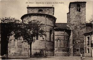 CPA Avila Abside de la Iglesia de San Pedro SPAIN (744134)