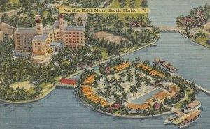 MIAMI BEACH , Florida , 30-40s ; Nautilus Hotel