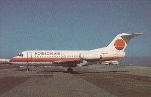 Horizon Air Fokker F28 100