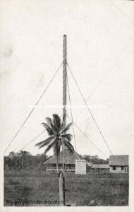 british north borneo, SABAH SANDAKAN, Wireless Station (1930s)