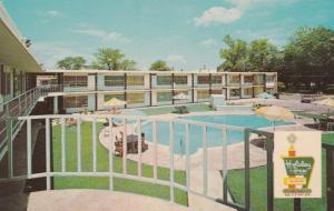 FLORENCE, South Carolina, 50-60s; Holiday Inn, Swimming Pool