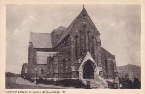 Church Of England Saint Johns Newfoundland