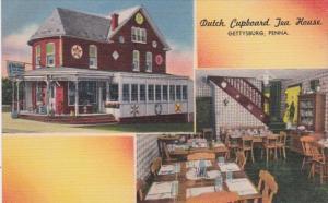 Pennsylvania Gettysburg Dutch Cupboard Tea House 1963