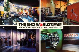 TN - Knoxville, 1982. The 1982 World's Fair, European Economic Community Pavi...