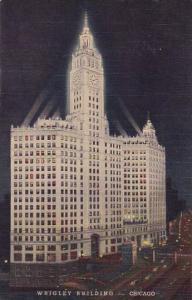 Illinois Chicago Wrigley Building Curteich