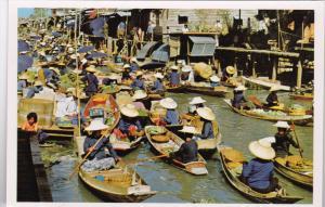 Thailand Thai Boat Vendors Floating Market