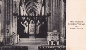 WASHINGTON D. C., 1930s ; Cathedral Piers