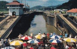 Tourist At Panama Canal, 1950-1960s
