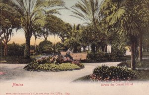 MENTON, Alpes Maritimes, France, 1901-1907; Jardin Du Grand Hotel
