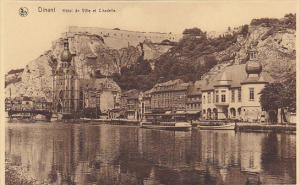 Belgium Dinant Hotel de Ville et Citadelle