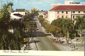World Famous Bay Street - Nassau, Bahamas