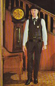Gary Cooper in High Noon Movieland Wax Museum Buena Park California