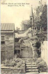 Catholic Church & Rock Steps,Harper's Ferry, West Virginia, 00-10s