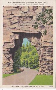 Tennessee Backbone Rock Cherokee National Forest