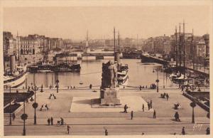 Vue Generale Du Bassin Du Commerce, LE HAVRE (Seine Maritime), France, 1900-1...