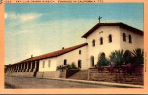 California San Luis Obispo Mission Founded In 1772