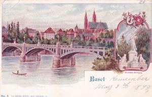 Basel, Switzerland , 1890s; Bridge