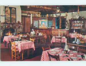 Unused Pre-1980 NORMANDY FARM RESTAURANT Potomac Maryland MD p6424