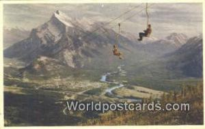 Canada Banff Mt Rundle, Chair Lift