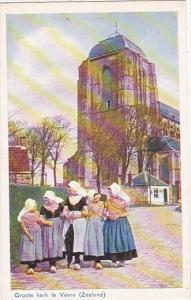 Netherlands Zeeland Groote kerk te Veere