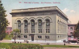 New Hall of Justice, San Francisco, California,  PU-1919