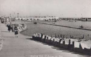 The Boating Lake St Annes On Sea Real Photo Postcard
