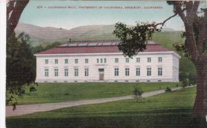 BERKELEY, California; California Hall, University of California, 00-10s