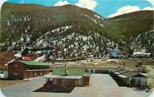Idaho Springs CO On National Highway in Rocky Mountains~Peoriana Motel