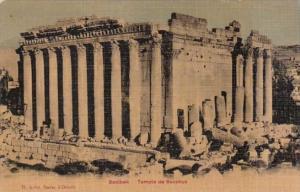 Lebanon Baalbek Temple Of Bacchus